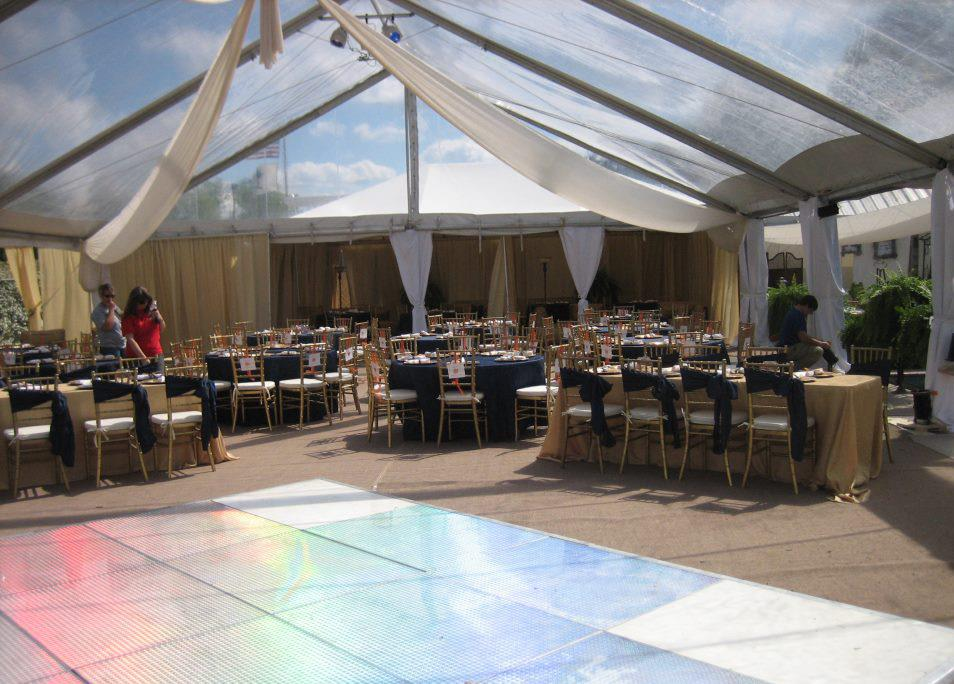 Tent and Dance Floor