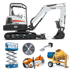 Equipment rentals in North Mississippi