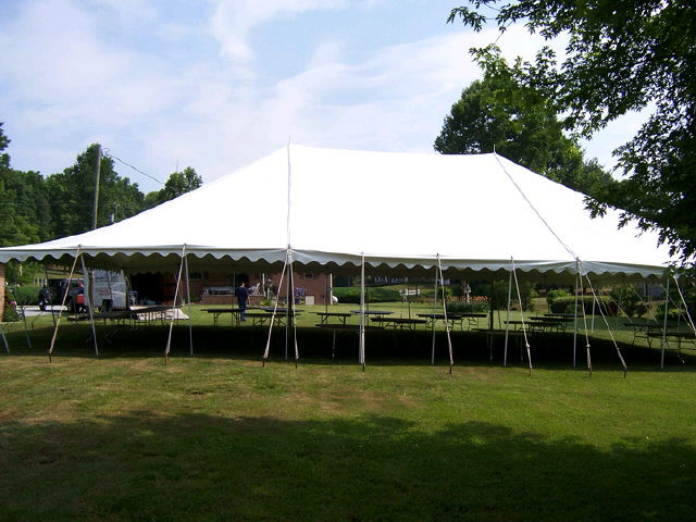 Where to find 40 WIDE POLE TENT in Batesville