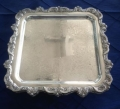 Rental store for SILVER SERVING TRAY 12X12 SQUARE in Batesville MS