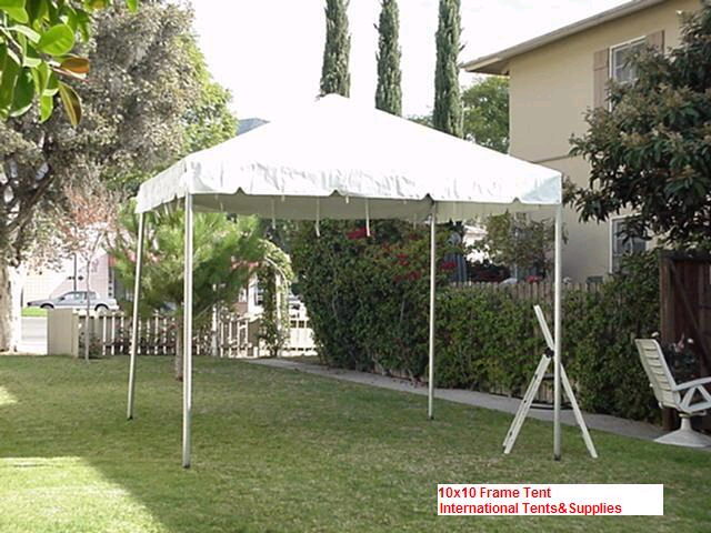 Where to find 10X10 WHITE FRAME TENT in Batesville