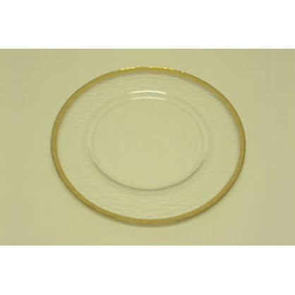 Where to find GLASS - PLATE - 8  - GOLD RIM in Batesville