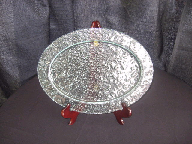 Where to find FROSTED GLASS - OVAL PLATTER - 12 X15.7 in Batesville