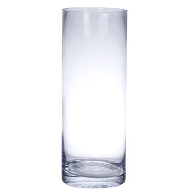 Where to find VASE - GLASS CYLINDER - 14 X8 in Batesville