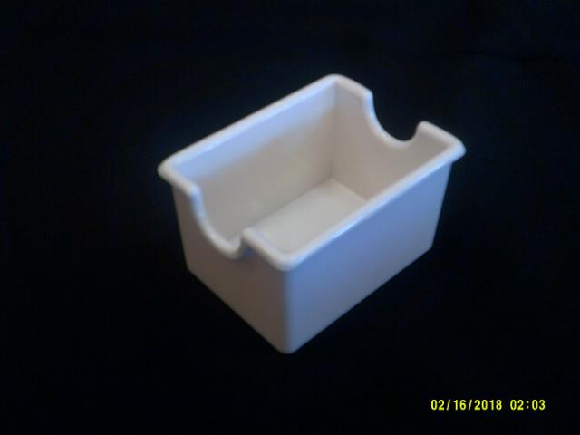 Where to find WHITE PLASIC SUGAR CADDY in Batesville