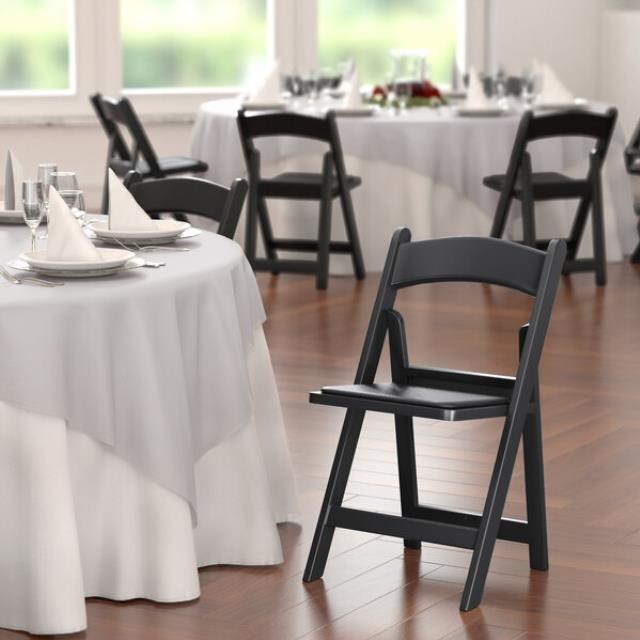 Where to find CHAIRS - BLACK RESIN in Batesville