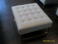 Rental store for WHITE LOUNGE OTTOMAN in Batesville MS