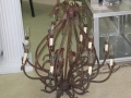 Rental store for BLACK AND GOLD CHANDELIER in Batesville MS
