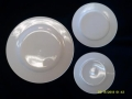 Rental store for WHITE PORCELAIN - BREAD   BUTTER PLATE in Batesville MS