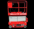 Rental store for MEC MICRO 19  SCISSOR LIFT in Batesville MS