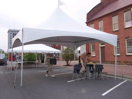 Where to find 20X20 HIGH PEAK FRAME TENT in Batesville